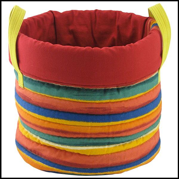 panier de rangement en tissu pour chambre d'enfant