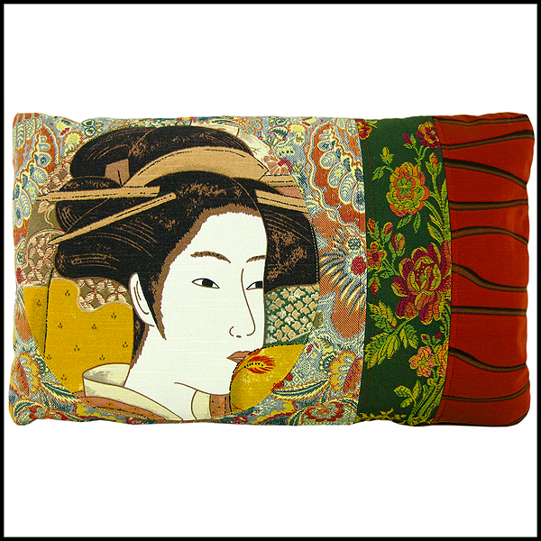 coussin geisha japon