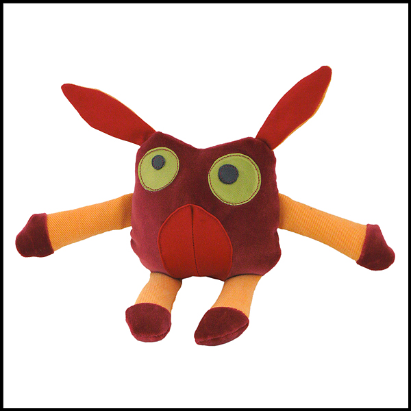 doudou velours rouge