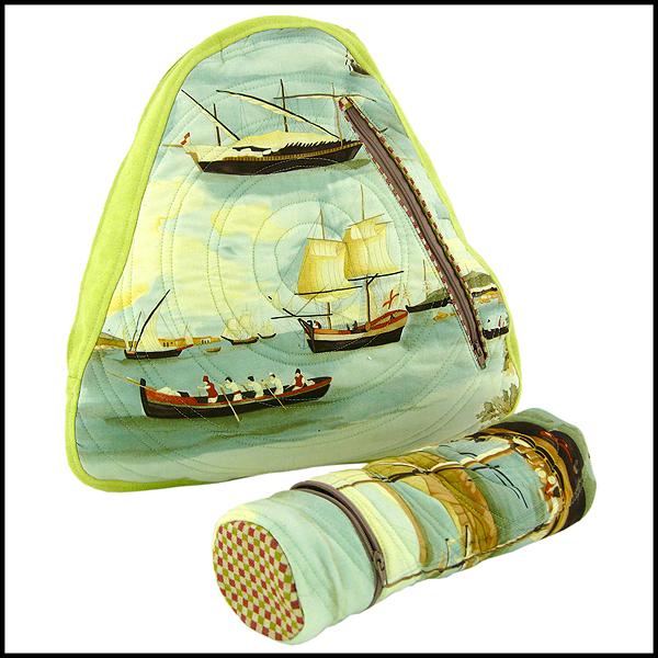 sac à dos et trousse bateaux voiliers