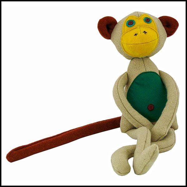 doudou singe lainage