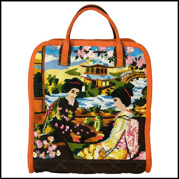 sac canevas geishas