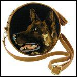 sac canevas chien